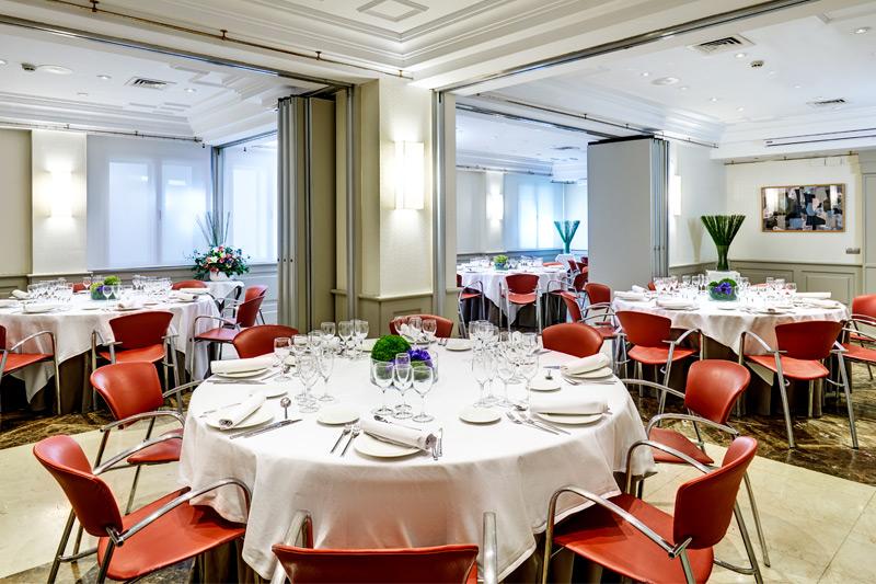 Hotel Conde Duque Sala ristorante