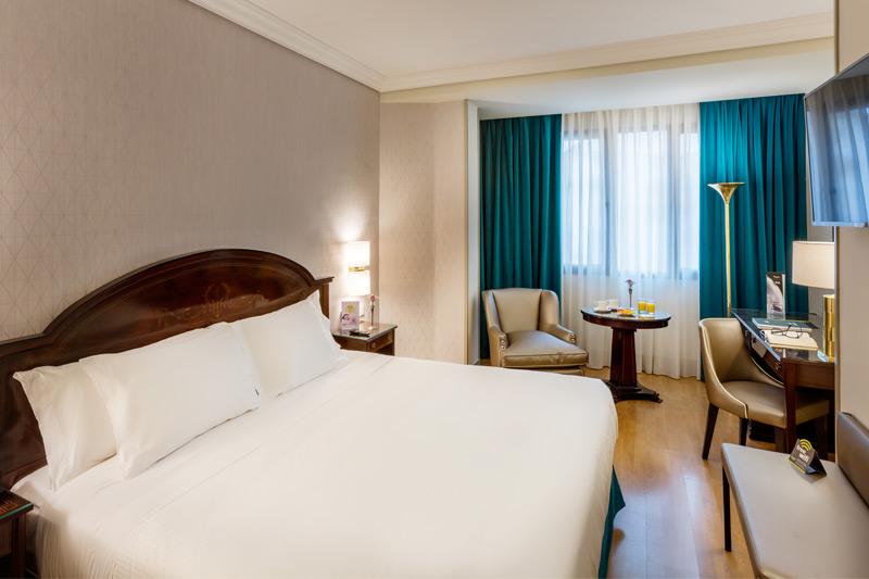 Hotel Conde Duque Camera